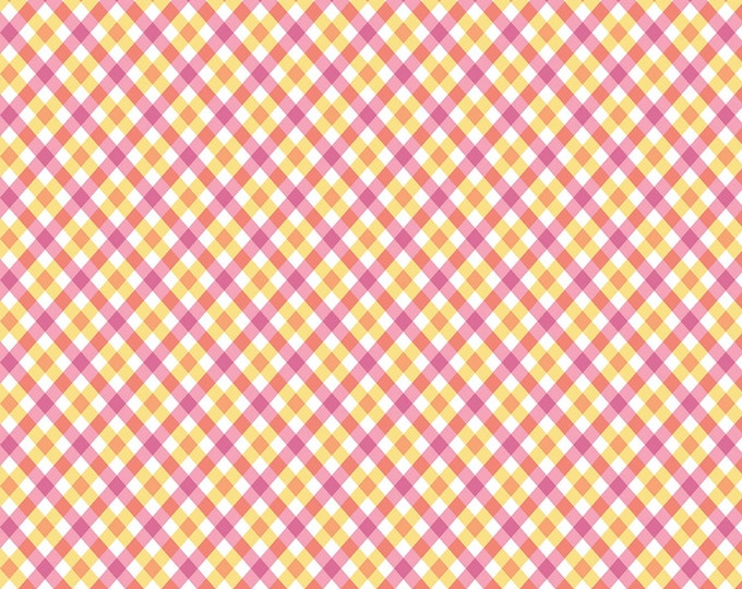 PERFECT PARTY PLAID Children's Cotton Fabric by Lindsay Wilkes for Penny Rose Fabrics 43-44 Inches
