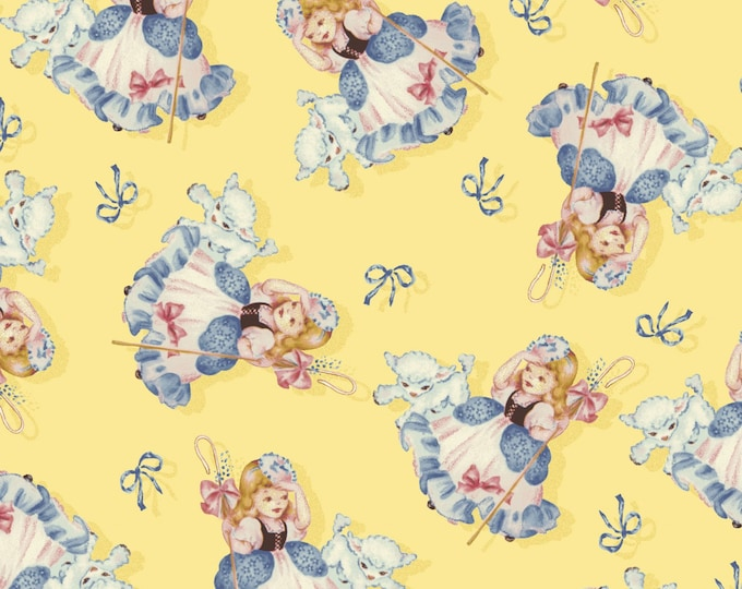 LITTLE BO PEEP, from Sara Morgan's That's My Baby Collection, Children's Cotton Fabric