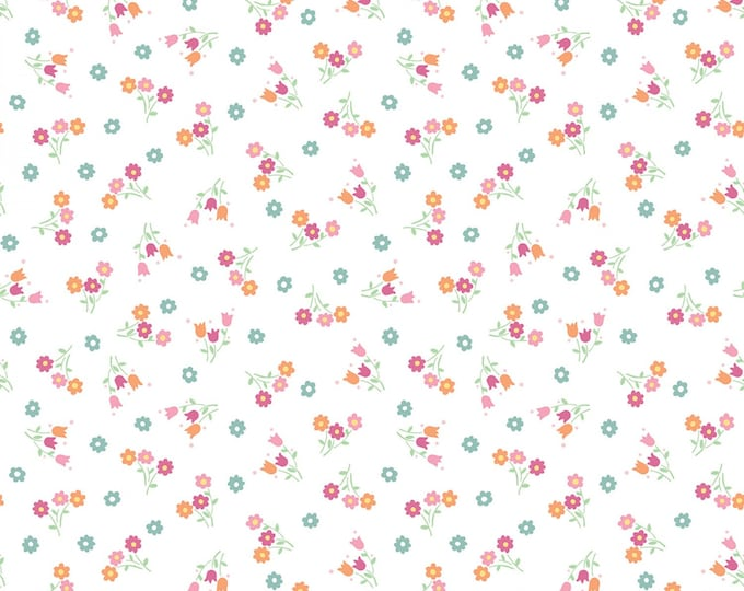 PERFECT PARTY Boquet Children's Cotton Fabric by Lindsay Wilkes for Penny Rose Fabrics 43-44 Inches