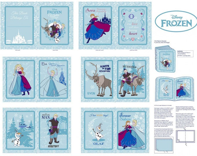 FROZEN CLOTH BOOK, Disney Frozen Magic Cloth Book 36 x 44 Inches