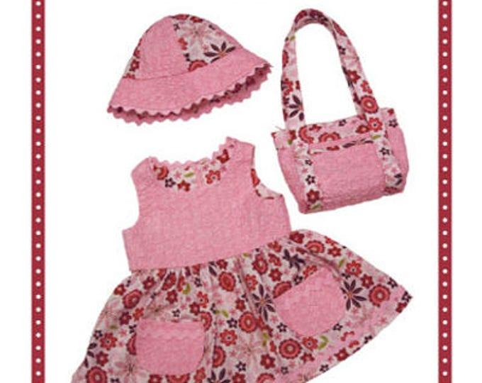 Toddler Dress Pattern, Tickled Pink Dress Pattern by Annie