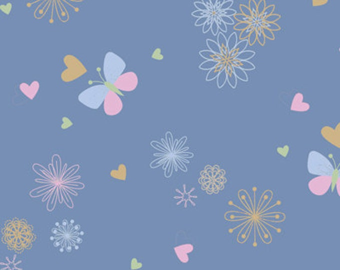 Flannel Fabric DesOoo Baby Designed by Fresh Designs for Henry Glass & Co.
