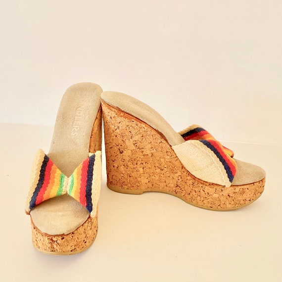 Vintage 1970's Italian Made SKY HIGH Rainbow Cork