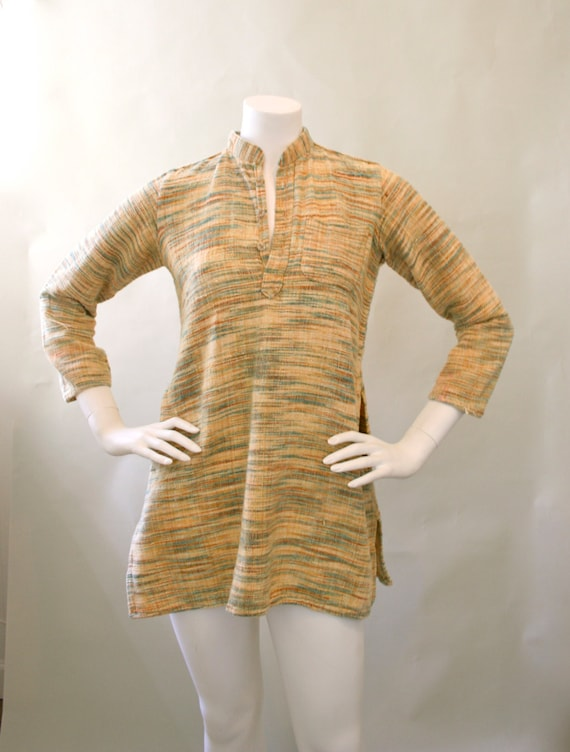 Vintage 1960's / 1970's Multi-Colored Striated Neh