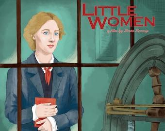 LITTLE WOMEN Poster Artwork