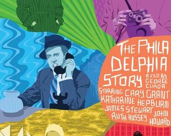 THE PHILADELPHIA STORY Poster Artwork
