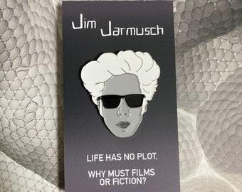 Jim Jarmusch Enamel Pin