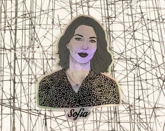 Sofia Coppola Holographic Sticker