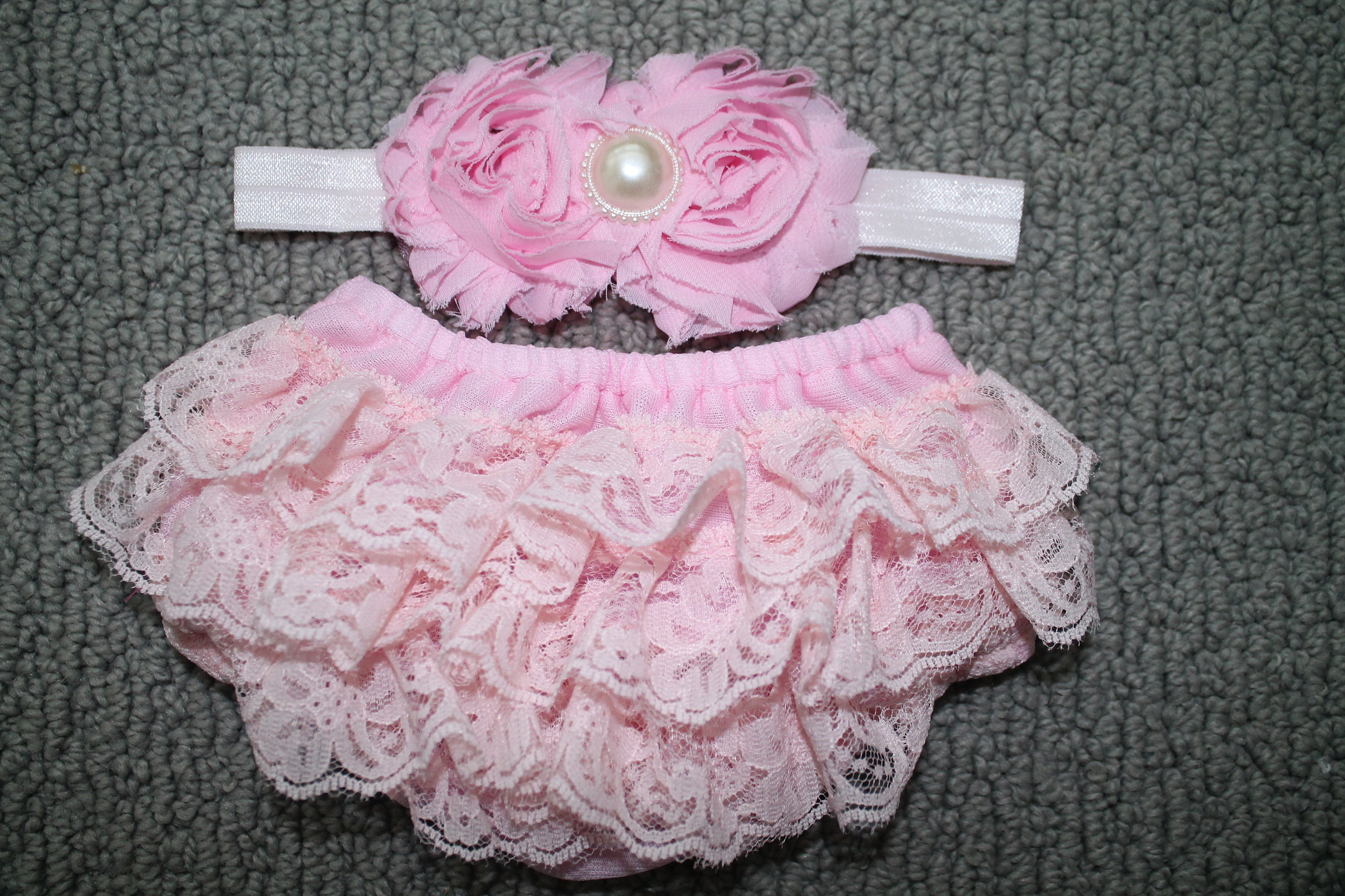 The Hair Bow Company Girls Baby /& Toddler Lace Diaper Cover Bloomers 0-3 Yrs