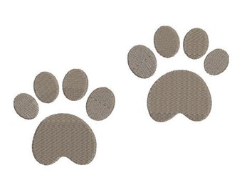 Bear Paw Foot Prints Machine Embroidery Designs 4x4 & 5x7 Instant Download Sale