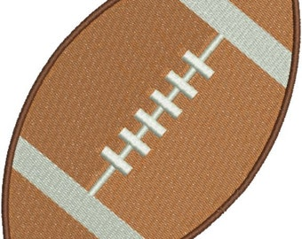 Football Machine Embroidery Designs 4x4 & 5x7 Instant Download Sale