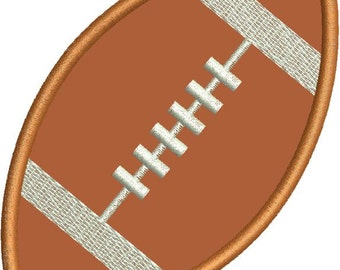 Football Applique Machine Embroidery Designs 4x4 & 5x7 Instant Download Sale