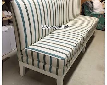 Bon Dining Bench Kitchen Banquette Upholstered Custom Bench | Etsy
