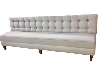 Custom Listing For Deposit Of Dining Bench Upholstered Kitchen Bench Custom  Kitchen Bench Banquette Booth
