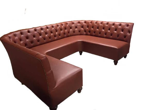 U Shape Bench Ushape Banquette Round Sofa Circular Sofa Round   Etsy