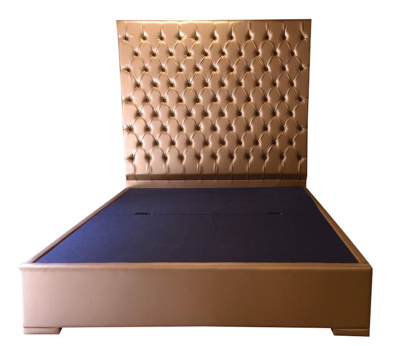 664e6002919f Extra Tall King Headboard Bed Tufted Upholstered Headboard | Etsy