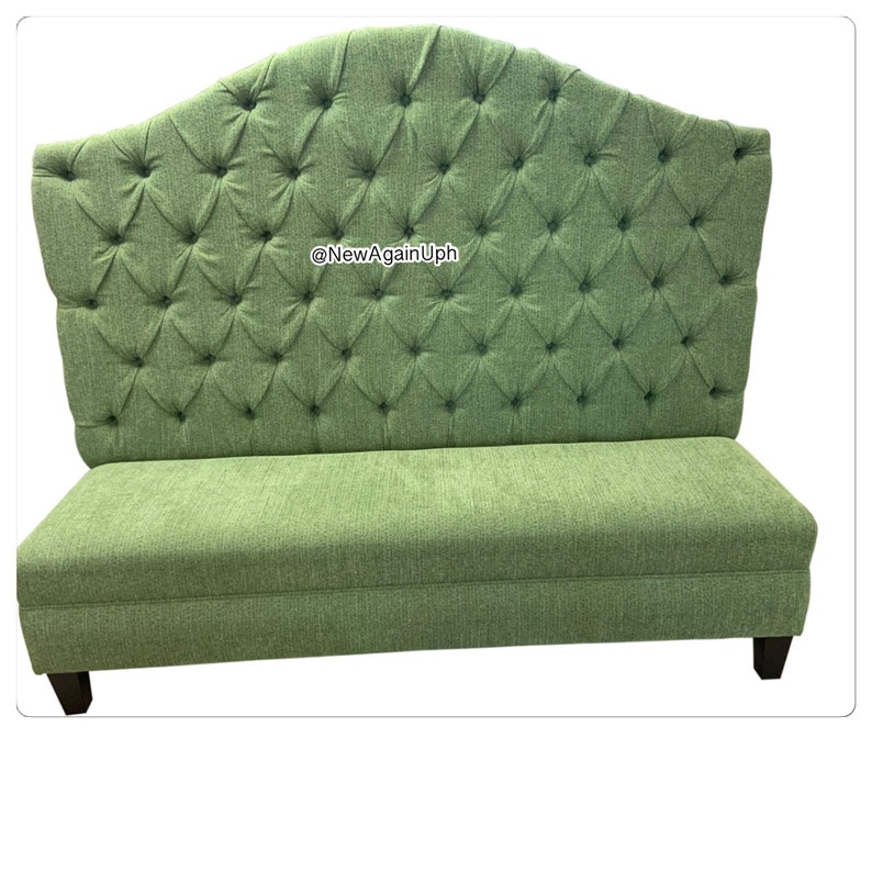 Dining Bench Kitchen Banquette Upholstered Custom Bench Upholstered Bench  Banquette Booth Custom Booth Dining Room Seating Dining Room Bench