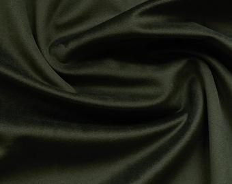 Hunter Green Velvet Upholstery Fabric by the Yard -  Dark Green Velvet Green Velvet Fabric