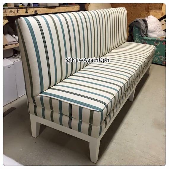 Dinette Bench Seating: Kitchen Bench Upholstered Kitchen Bench Custom Bench