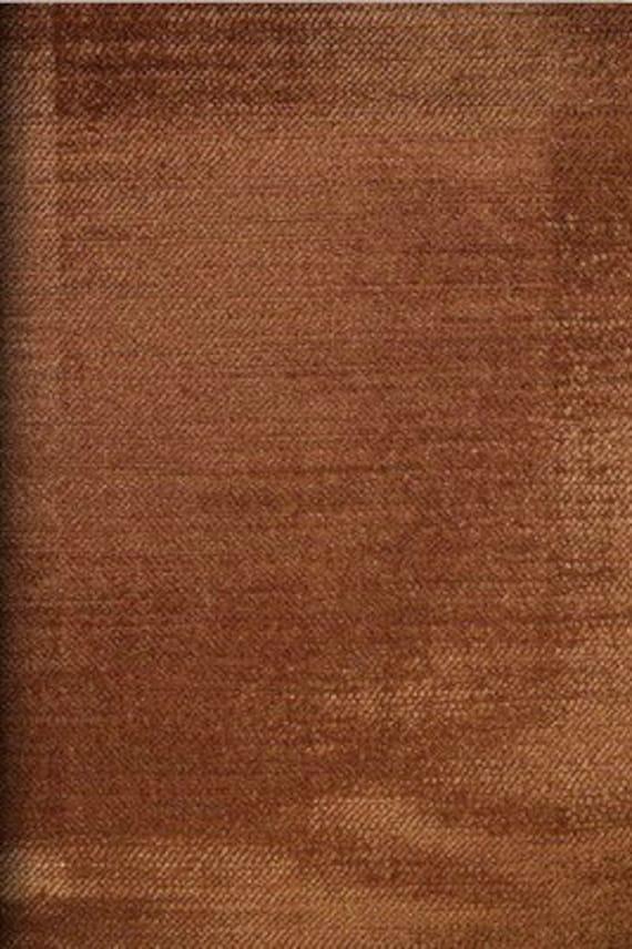Mocha Velvet Upholstery Fabric By The Yard Mocha Velvet Dark Etsy