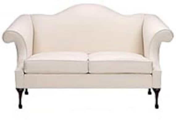 Charmant Custom Queen Anne Sofa Made To Order Couch Custom Livingroom