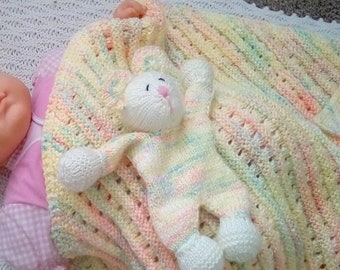 baby blanket hand knitted