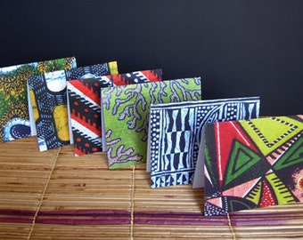 African Note Cards set of 6