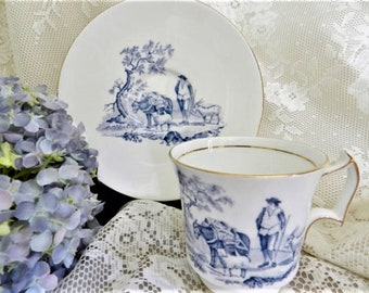 Blue Royal Chelsea Teacup 24eb97da2