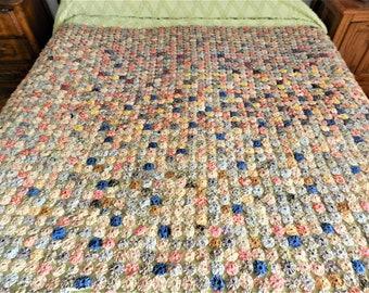 1930s YoYo Quilt 21952d610