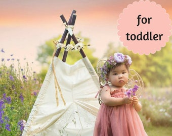 Delicate Lace Teepee for Nursery - Perfect for Toddlers
