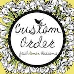 Megan Custom Order 5 inch Letter Banner
