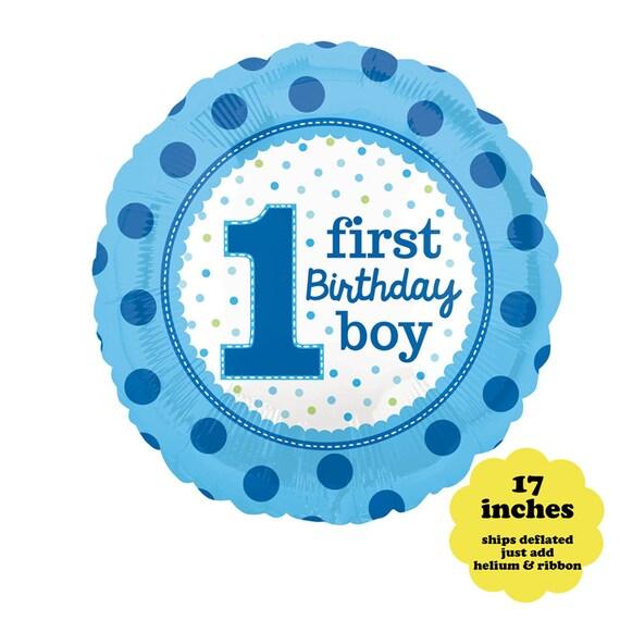 Boys 1st Birthday Balloon