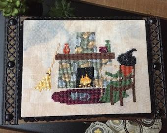 Physical Paper Pattern: Witches Make Stitches Cross Stitch