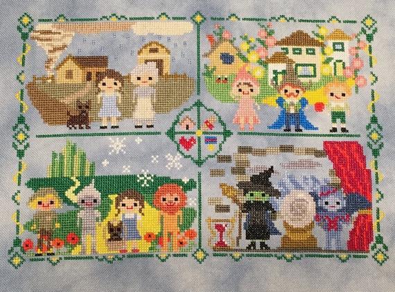 Disney Classics Sampler B//W Cross Stitch Chart Buy 1 GET 1 HALF PRICE