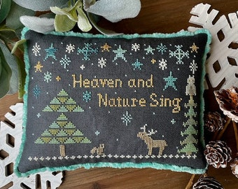 Physical Paper Pattern: Heaven and Nature Sing Cross Stitch Pattern