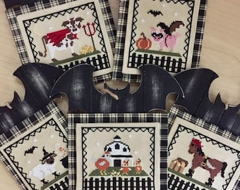Physical Paper Patterns: Halloween Hoedown Complete 5 part series