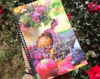 Volume 8, November (Winter) 30DaysofGoddess Devotional Prayerbook, companion journal (goddess, sacred living, devotion, blessings)