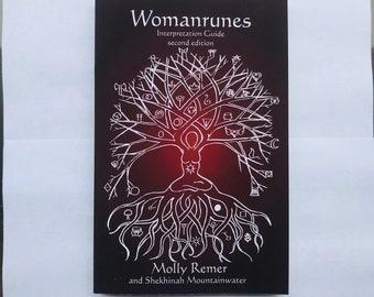 Womanrunes: Interpretation Guide. Book only. (divination, books, runes, oracle)