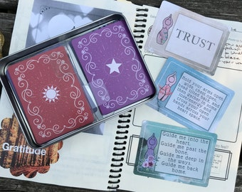 30 Days of Goddess Companion Deck (#30DaysofGoddess, oracle, divination, devotional, daily devotional, goddess devotional, prayer cards)