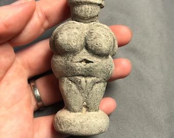 Venus of Willendorf Altar Figure (goddess sculpture, ceremony, ritual, mother blessing, women's circle, fertility, ancient goddess)