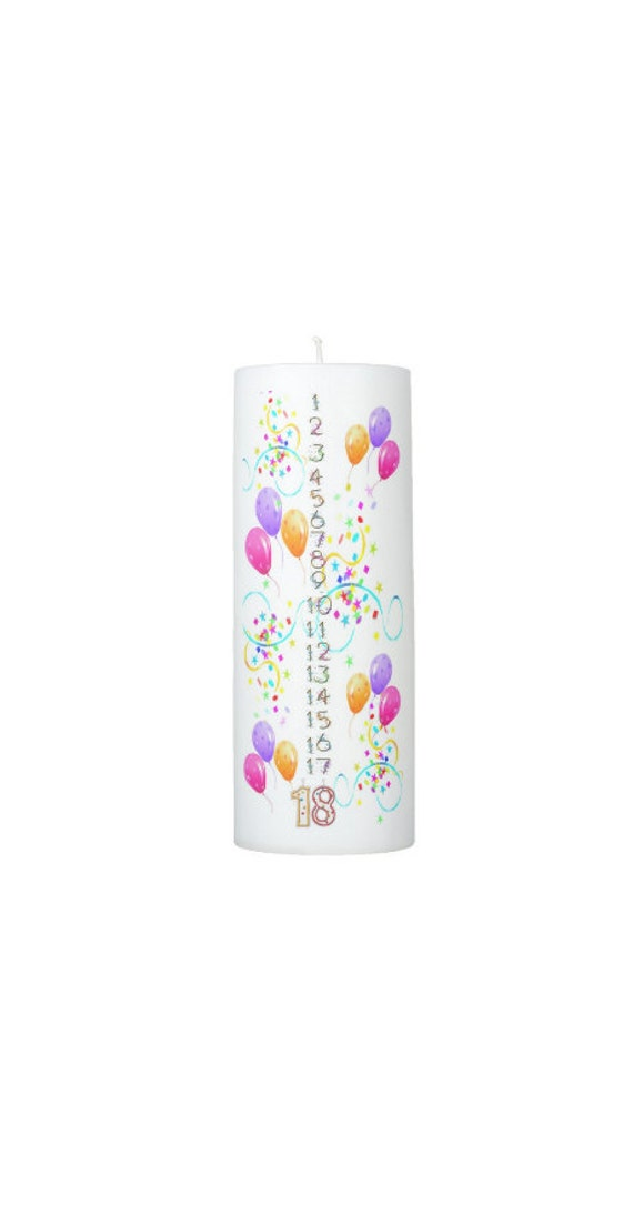 Birthday Countdown Candle 1