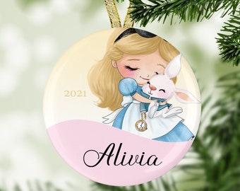 Wonderland Adventure Ornament - Christmas Ornament - Personalized Ornament - 2021 Ornaments - Holiday Ornament - Stocking Stuffer