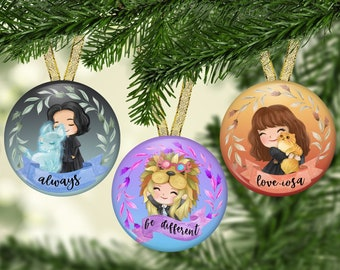 Wizard II Christmas Ornaments - 2021 Ornaments - Holiday Ornaments - Harry Potter Fan Gifts - HP Wizard Ornament - Best Friends Gift
