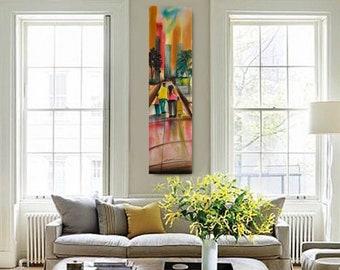 Abstract canvas, African American Art, Canvas Art, Canvas Wall Art,Home Decor Art, Canvas Painting,Abstract Art, Wall Art