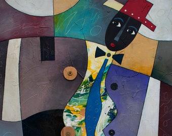Abstract Art, African American Art, Acrylic Print, Wall Art, Home Decor Art, Abstract Painting, Abstract Art, Large Wall Art