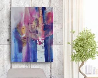 Birch Moment, African American Art, Canvas Art, Canvas Wall Art,Home Decor Art, Canvas Painting,Abstract Art, Wall Art