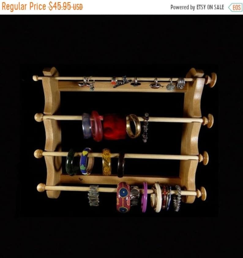 ON SALE Large Wall Mounted Hanging Bracelet Holder Storage image 0