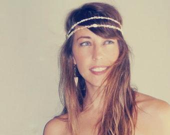 Seashell Headband Mermaid Crown Festival Flapper Wedding Hawaiian Ocean Pretty Hair Headpiece