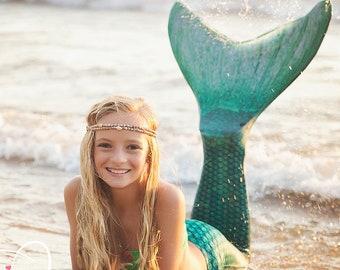Mermaid Crown Seashell Headband Flapper Hawaiian Ocean Head Piece