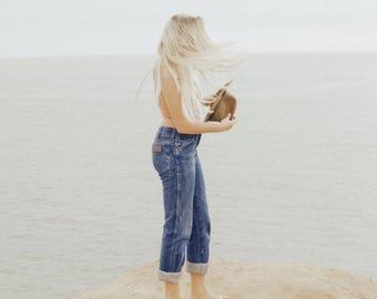 Vintage WRANGLER Jeans High Waist Denim All Sizes Custom Fit